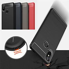 Недорогие Чехлы и кейсы для Xiaomi-Кейс для Назначение Xiaomi Mi 8 / Mi 8 SE Матовое Чехол Однотонный Мягкий ТПУ для Xiaomi Mi 8 / Xiaomi Mi 8 SE