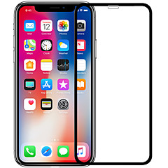Недорогие Защитные пленки для iPhone X-Защитная плёнка для экрана для Apple iPhone X Закаленное стекло 1 ед. Защитная пленка на всё устройство HD / Уровень защиты 9H / Взрывозащищенный