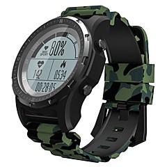 abordables Relojes Inteligentes-KING WEAR S966 Reloj elegante Android iOS Bluetooth GPS Deportes Impermeable Monitor de Pulso Cardiaco Pantalla Táctil Reloj Cronómetro Podómetro Recordatorio de Llamadas Seguimiento de Actividad