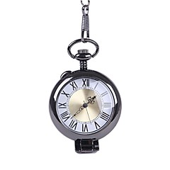 abordables Relojes de Bolsillo-Hombre Reloj de Bolsillo Creativo Aleación Banda Vintage Chocolate