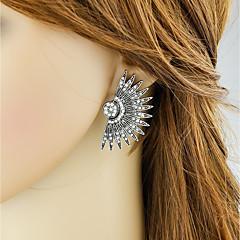 abordables Bijoux pour Femme-Femme Cristal Stylé Boucles d'oreille goujon - Chanceux Basique, Mode Argent Pour Quotidien Rendez-vous