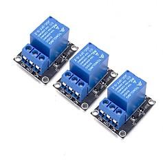 お買い得  センサー-arduinoアーム用3pcs 5vリレーモジュールpic avr mcu 5vインジケータライトled 1チャンネルリレーモジュール