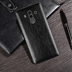 Недорогие Чехлы и кейсы для Huawei Mate-Кейс для Назначение Huawei Mate 10 pro / Mate 10 Ультратонкий / Матовое Кейс на заднюю панель Однотонный Мягкий Кожа PU для Huawei Honor 10 / Huawei Honor 9 Lite / Honor 7C(Enjoy 8)