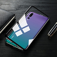 cheap Cases / Covers for Huawei-Case For Huawei MediaPad P20 / P20 lite Translucent Full Body Cases Solid Colored Hard Tempered Glass / Metal for Huawei P20 / Huawei P20 Pro / Huawei P20 lite