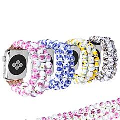 abordables Novedades-Ver Banda para Apple Watch Series 4/3/2/1 Apple Diseño de la joyería Cerámica Correa de Muñeca