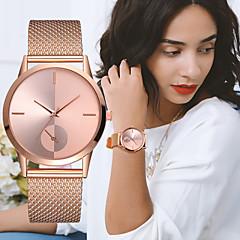 cheap Elegant Watches-Women's Ladies Wrist Watch Quartz Black / Silver / Gold Chronograph Creative New Design Analog Luxury Elegant - Silver / Black Rose Gold Silvery / White One Year Battery Life