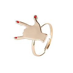 preiswerte Ringe-Damen Stilvoll Ring / Öffne den Ring - Kreativ Modisch, Koreanisch Verstellbar Gold Für Alltag / Nacht Besondere Anlässe / Maskerade