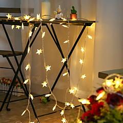 abordables Tiras LED Flexibles-3M Tiras LED Flexibles 20 LED Blanco Nuevo diseño / Decorativa / Conectable 5 V 1 juego