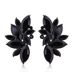 preiswerte Ohrringe-Damen Retro Stilvoll Ohrstecker - Kreativ Luxus, Geometrisch, Europäisch Schwarz / Rot / Blau Für Party / Abend Verabredung