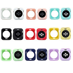 abordables Fundas para Apple Watch-Funda Para Asus Apple Watch Series 3 / 2 / 1 Silicona Apple
