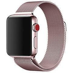 preiswerte Herrenuhren-Edelstahl Uhrenarmband Gurt für Apple Watch Series 3 / 2 / 1 Schwarz / Blau / Silber 23cm / 9 Zoll 2.1cm / 0.83 Inch