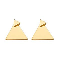 preiswerte Ohrringe-Damen Stilvoll Ohrstecker - Kreativ Einfach, Geometrisch, Modisch Gold / Silber Für Alltag / Ausgehen