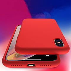 Недорогие Кейсы для iPhone 5-Кейс для Назначение Apple iPhone XR / iPhone XS Max Защита от удара / Прозрачный Кейс на заднюю панель Однотонный Мягкий ТПУ для iPhone XS / iPhone XR / iPhone XS Max
