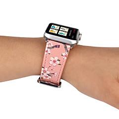 abordables Accessoires Apple Watch-Bracelet de Montre  pour Apple Watch Series 4/3/2/1 Apple Bracelet en Cuir Vrai Cuir Sangle de Poignet
