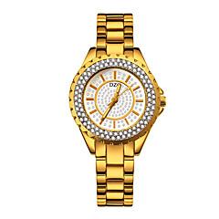 お買い得  レディース腕時計-女性用 リストウォッチ クォーツ 30 m クリエイティブ 新デザイン 合金 バンド ハンズ ファッション シルバー / ゴールド / ローズゴールド - ゴールド シルバー ローズゴールド