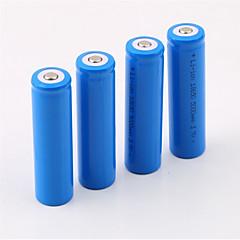 お買い得  DIYパーツ/工具-18650 バッテリー 充電式リチウムイオンバッテリー 5000.0 ミリアンペア時 4本 充電式 のために キャンプ/ハイキング/ケイビング