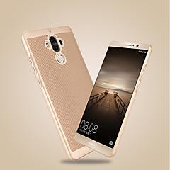 Недорогие Чехлы и кейсы для Huawei Mate-Кейс для Назначение Huawei Y9 (2018)(Enjoy 8 Plus) / Y7 Prime (2018) Ультратонкий Кейс на заднюю панель Однотонный Твердый ПК для Honor 9 / Honor 6A / Honor V9