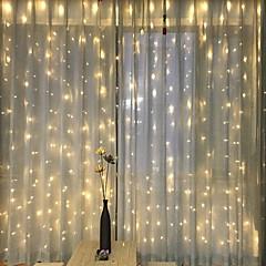 お買い得  LED ストリングライト-3M ストリングライト 300 LED 温白色 装飾用 220-240 V 1セット