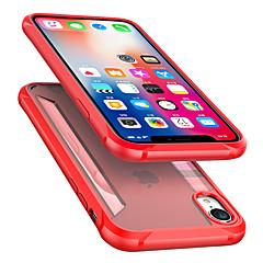 Недорогие Кейсы для iPhone-Кейс для Назначение Apple iPhone XR / iPhone XS Max Защита от удара / Прозрачный Кейс на заднюю панель Однотонный Твердый ТПУ для iPhone XS / iPhone XR / iPhone XS Max