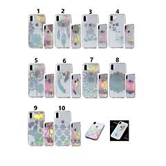 Недорогие Кейсы для iPhone 7-Кейс для Назначение Apple iPhone XR / iPhone XS Max IMD / Прозрачный / С узором Кейс на заднюю панель Бабочка / одуванчик Мягкий ТПУ для iPhone XS / iPhone XR / iPhone XS Max