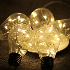 お買い得  LED ストリングライト-2.5m ストリングライト 50 LED ホワイト 装飾用 / 愛らしいです USBパワード 1セット