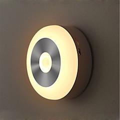 preiswerte Ausgefallene LED-Beleuchtung-1 set LED-Nachtlicht Warmes Weiß / Kühles Weiß AAA-Batterien angetrieben Smart / Infrarot-Sensor / Kabellos 5 V