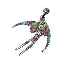 お買い得  ブローチ-女性用 ダイヤモンド ビザンチン ブローチ  -  アニマル ゴシック, ファッション, かわいいスタイル ブローチ 混色 用途 式典 / カーニバル