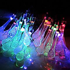 preiswerte LED Lichtstreifen-2,5 m Leuchtgirlanden 20 LEDs Wechsel Neues Design / Dekorativ / Cool Solarbetrieben 1 set