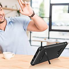 Недорогие Чехлы и кейсы для Galaxy Note 5-BENTOBEN Кейс для Назначение SSamsung Galaxy Note 9 / Note 8 Защита от удара / со стендом / Покрытие Кейс на заднюю панель Сияние и блеск Твердый Кожа PU / ТПУ / ПК для Note 9 / Note 8 / Note 5