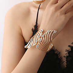 preiswerte Armbänder-Damen Kubikzirkonia Retro Manschetten-Armbänder - Modisch, Elegant Armbänder Gold Für Zeremonie Party