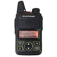 abordables Walkie Talkies-Baofeng® bf-t1 walkie talkie portátil 3 km-5 km 20 1 w radio de dos vías