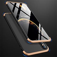 Недорогие Кейсы для iPhone 6 Plus-Кейс для Назначение Apple iPhone XR / iPhone XS Max Матовое Чехол Однотонный Твердый ПК для iPhone XS / iPhone XR / iPhone XS Max