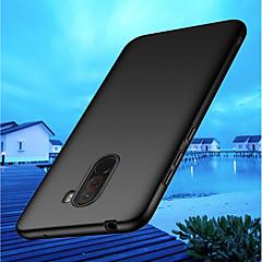 Недорогие Чехлы и кейсы для Xiaomi-Кейс для Назначение Xiaomi Xiaomi Pocophone F1 / Mi 8 Ультратонкий Кейс на заднюю панель Однотонный Твердый ПК для Xiaomi Pocophone F1 / Xiaomi Mi 8 / Xiaomi Mi 8 SE