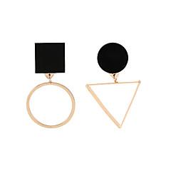 preiswerte Ohrringe-Damen Nicht übereinstimmend Tropfen-Ohrringe - Einfach, Geometrisch, Europäisch Gold Für Normal Alltag