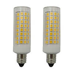abordables Bombillas LED-2pcs 5 W 460 lm E11 Bombillas LED de Mazorca 102 Cuentas LED SMD 2835 Blanco Cálido / Blanco Fresco 220-240 V
