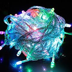 お買い得  LED ストリングライト-6.8m ストリングライト 56 LED マルチカラー 装飾用 220-240 V 1セット