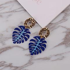 preiswerte Ohrringe-Damen Vintage Stil Tropfen-Ohrringe - Titanstahl Retro Blau / Rosa / Champagner Für Strasse