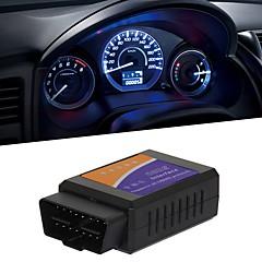 abordables Herramientas y Equipamiento para Coche-16pin Macho a Hembra Simple OBD ELM327 App para iOS ISO15765-4 (CAN BUS) / ISO9141-2 / ISO 14230-4 (KWP2000) Escáneres de diagnóstico de vehículos