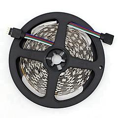 preiswerte LED Lichtstreifen-SENCART 5m Flexible LED-Leuchtstreifen 300/150 LEDs SMD5050 RGB Schneidbar / Dekorativ / Verbindbar 12 V 1pc
