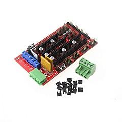 abordables Módulos-Rampas 1.4 Panel de control Impresora 3d Tablero de control Reprap Tablero de control Soporte arduino mega 2560