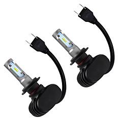 Недорогие Автомобильные фары-OTOLAMPARA H7 Лампы 110 W COB 9200 lm Светодиодная лампа Налобный фонарь Назначение