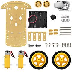 abordables Accesorios para Arduino-Kit de chasis robot robot inteligente para arduino.