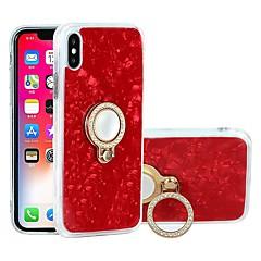 Недорогие Кейсы для iPhone X-Кейс для Назначение Apple iPhone X / iPhone 6 Защита от удара / Защита от пыли / Защита от влаги Кейс на заднюю панель Мрамор Мягкий ТПУ для iPhone X / iPhone 8 Pluss / iPhone 8