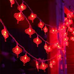 お買い得  LED ストリングライト-10m ストリングライト 80 LED レッド 装飾用 220-240 V 1セット