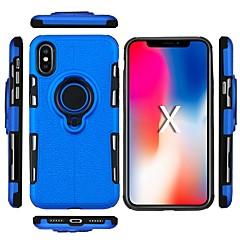 Недорогие Кейсы для iPhone X-Кейс для Назначение Apple iPhone X / iPhone XS Max Защита от удара / Защита от пыли / Защита от влаги Кейс на заднюю панель Однотонный Мягкий ТПУ для iPhone XS / iPhone XR / iPhone XS Max