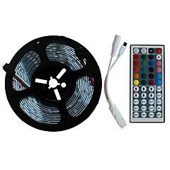 preiswerte LED Lichtstreifen-SENCART 5m Lichtsets 300/150 LEDs SMD5050 1 44Tastenfernbedienung RGB Schneidbar / Dekorativ / Verbindbar 12 V 1 set