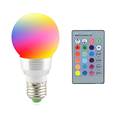 preiswerte LED-Birnen-2W 2700-7000 lm E14 E26/E27 LEDBühnenleuchten 1 Leds Hochleistungs - LED Dekorativ Ferngesteuert RGB Wechselstrom 85-265V