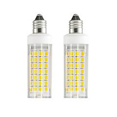 preiswerte LED-Birnen-2pcs 6 W 630-750 lm E11 LED Mais-Birnen T 88 LED-Perlen SMD 2835 Warmes Weiß / Kühles Weiß 85-265 V