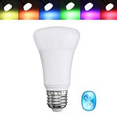 preiswerte LED-Birnen-BRELONG® 1pc 5 W 400 lm E26 / E27 Smart LED Glühlampen 10 LED-Perlen SMD 5050 APP-Steuerung / Bluetooth / Party RGBW 85-265 V