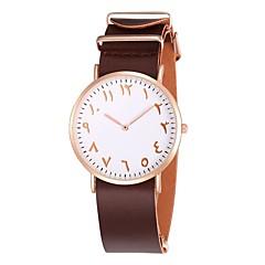 お買い得  レディース腕時計-Oulm リストウォッチ エミッタ カジュアルウォッチ ブラック / コーヒー / Brown